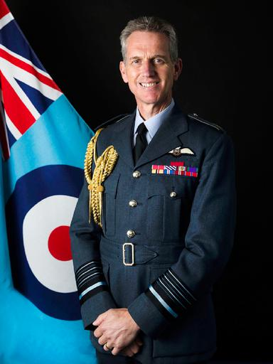 Air Chief Marshal Sir Stephen Hillier KCB CBE DFC